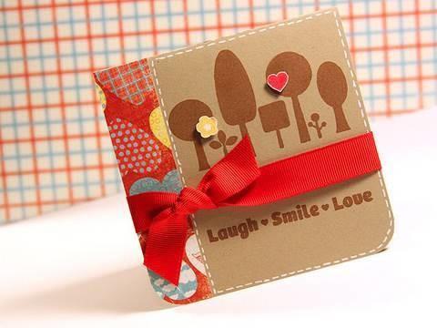 Laugh Smile Love - Make a Card Monday #96