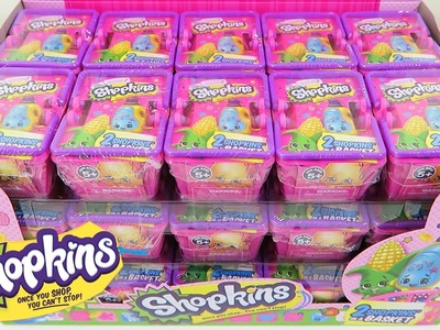 NEW Shopkins Season 2 ✦ HUGE Blind Baskets Surprise Unwrapping with 5 ULTRA RARES! ✦ Part 1