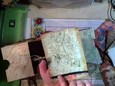 Paper Bag Mini Album Planner Part 2 of 2