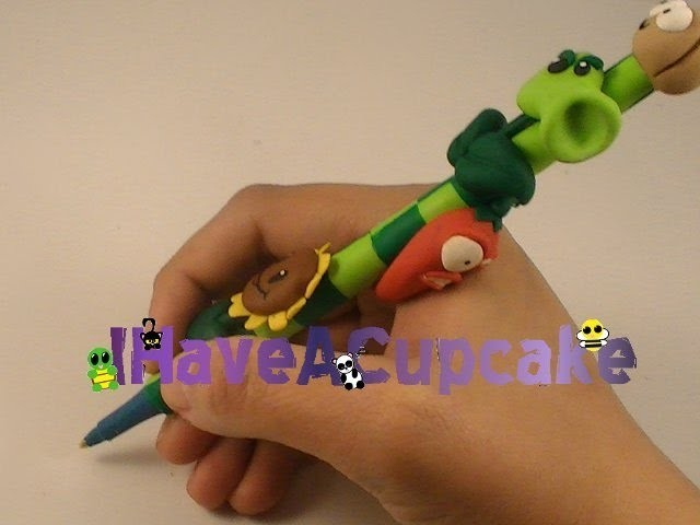 Polymer Clay Plants Vs Zombie Pen
