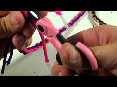 Rock Paracord - How to make a Round Braid Necklace or Bracelet w. Buckle