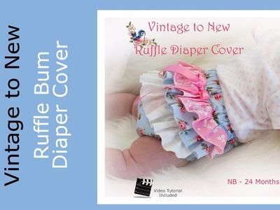 Ruffle Diaper Cover Pattern Tutorial