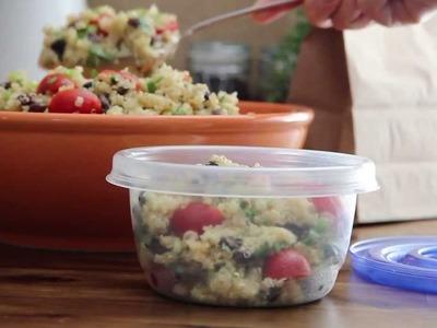 Salad Recipe - How to Make Zesty Quinoa Salad
