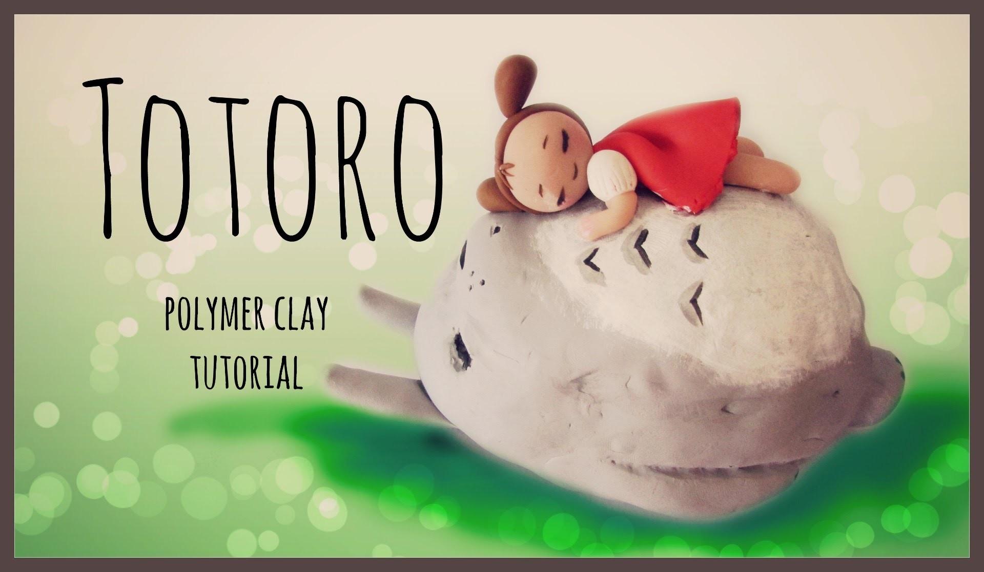 Totoro - Studio Ghibli Series - Polymer Clay Tutorial