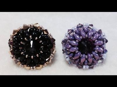 (Tutorial) Pinwheel Crystal Ring PART 1 (Video 51)