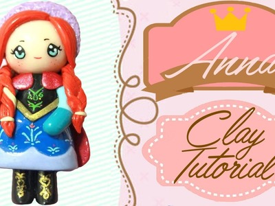 Anna Frozen Chibi | Polymer Clay Tutorial