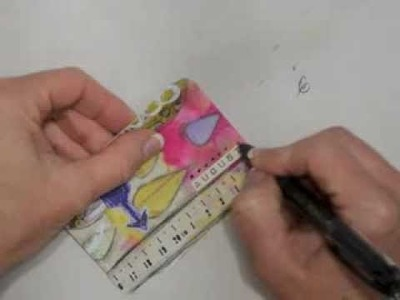 Art Pops™ Project Life Tutorial - August Anniversary Card