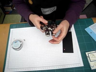 Basics 14 Using a Crop A Dile to set eyelets.wmv
