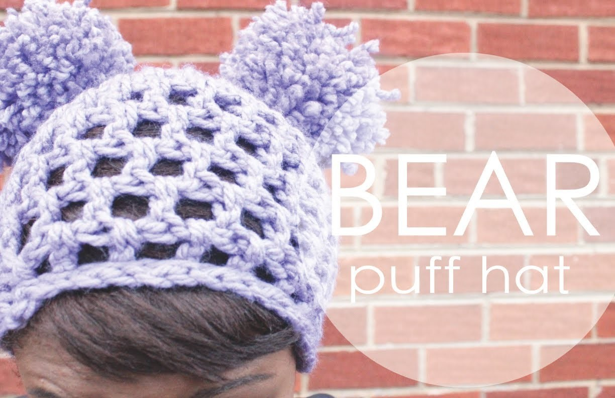 Bear Puff Hat