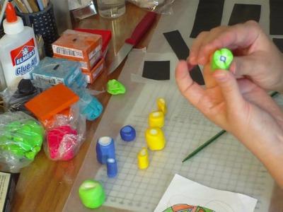 "Big Cane Chronicles - Part 1. Polymer clay ""Eye"" cane tutorial."