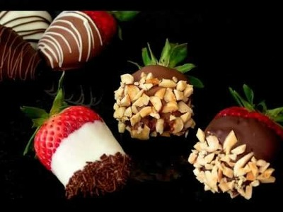 Chocolate Strawberries - How to make and decorate http:.www-inspired-by-chocolate-and-cakes