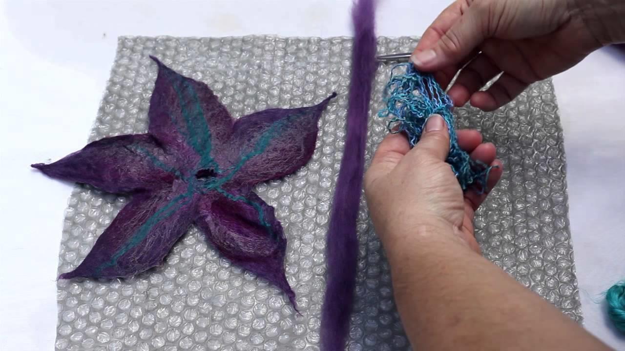 Create a Felt Flower