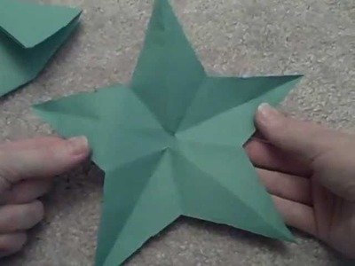 Cut a Perfect Star from Paper With Just One Cut!