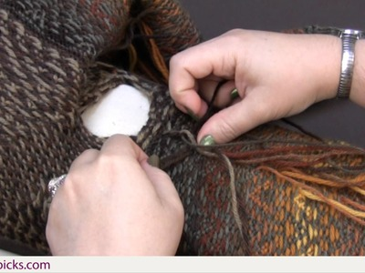 Finishing Tips for Fair Isle: Braiding Your Yarn Ends
