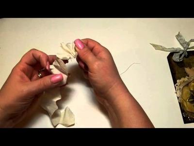 Flower Tutorial Using Marion Smith Designs Rose Petal Die