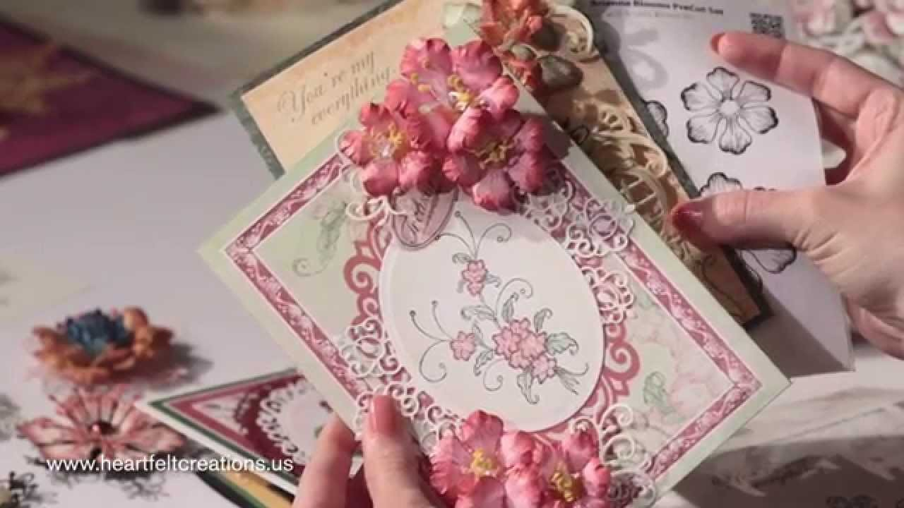 Flowershaping 101: How to Shape Gorgeous Arianna Blooms Flowers for Cardmaking
