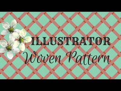 How to Create a Basket Weave Pattern in Illustrator - Making Seamless Pattern Tiles
