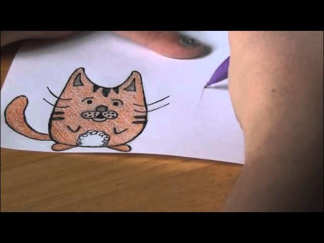 How to Draw: 3 KITTY CAT Doodles