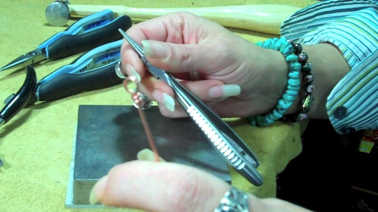 How to Hammer Closed Wire Loops In Jewelry