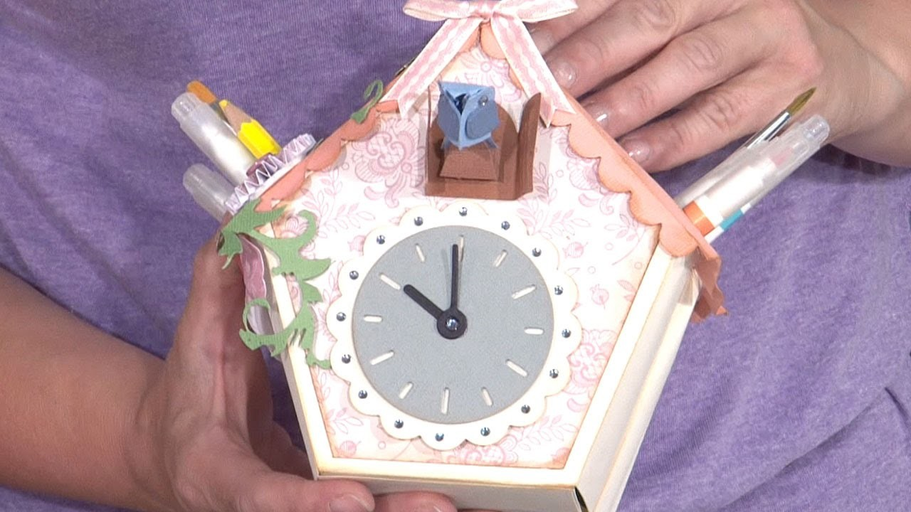 How To Make A Bird House Pen Pot | In The Studio