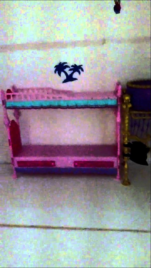 How To Make A Monster High Doll House Furniture Part1