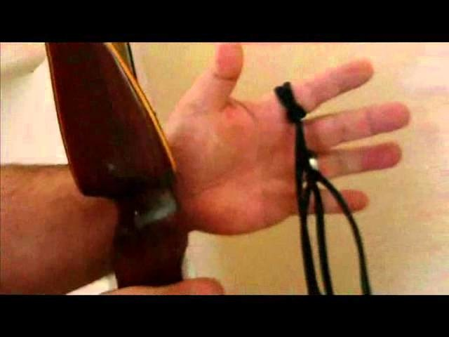 How to Make a Shoelace Finger Sling - Traditional Archery Academy