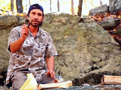 How to Make a Stone Tool   Survival Skills
