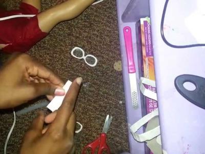 How to make ag doll glasses