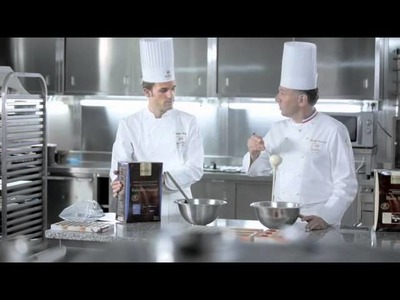 How to make chocolate decoration using cocoa butter with Philippe BERTRAND and Martin DIEZ