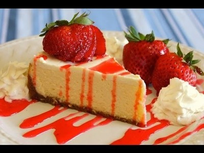 How to Make Easy Homemade New York Style Cheesecake - No Fuss Recipe