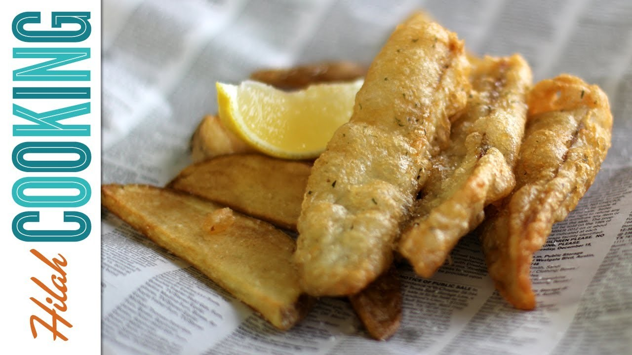 How To Make Fish and Chips - Extra Crispy Fish and Chips Recipe