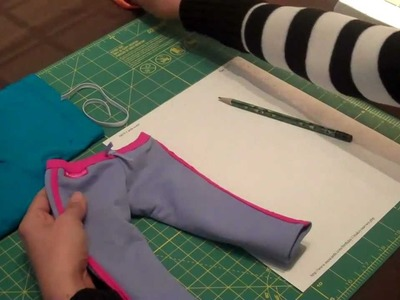 How to Make Pants for American Girl Doll