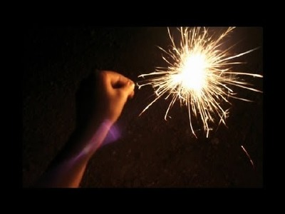 How to Photograph Sparklers : How to Become a Better Photographer