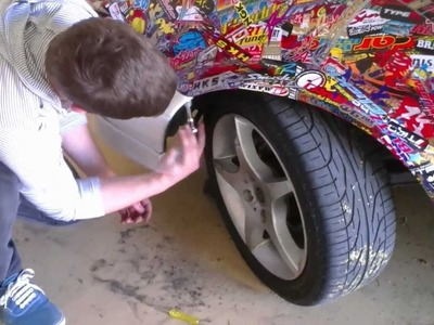P Plater Mods - How to Sticker Bomb Your Car (se02 ep04)