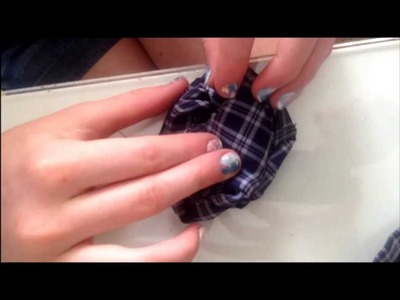Refashion Files: How to Make Fabric Flowers from Men's Ties