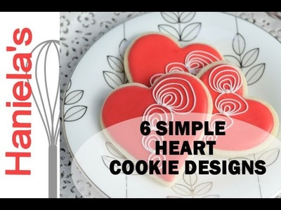 SIMPLE HEART COOKIES FOR VALENTINE'S DAY, HANIELA'S