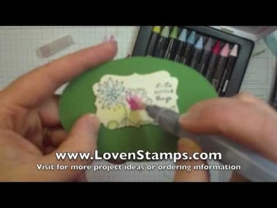 Watercolor Wonder Crayons: Stamping 101 with Meg