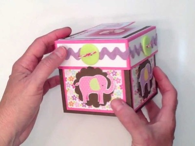 Baby Girl Explosion Box