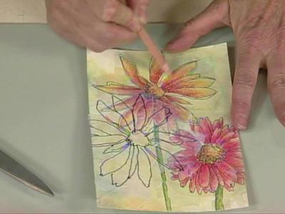 Cloth Paper Scissors - From Art Journaling to Art - Jane LaFazio