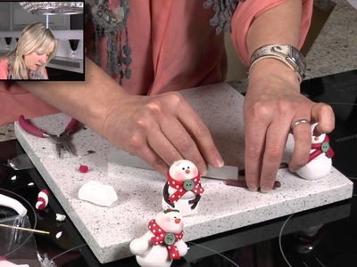 Cute Snowman - Polymer Clay Tutorials