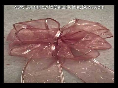 Decorative Bows You Can Learn How to Make For Holidays