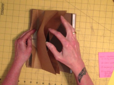 Double Paper Bag Page Tutorial, 1 of 3