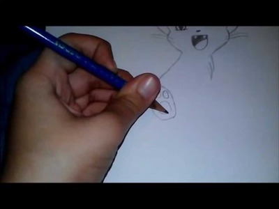 Drawing An Anime Kitty-Cat