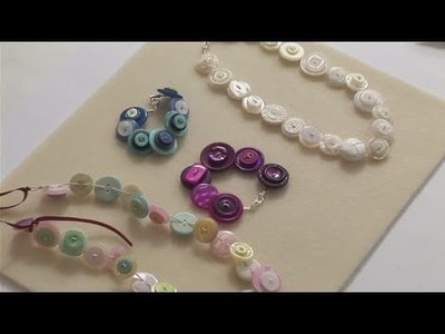 How To Do Button Jewellery