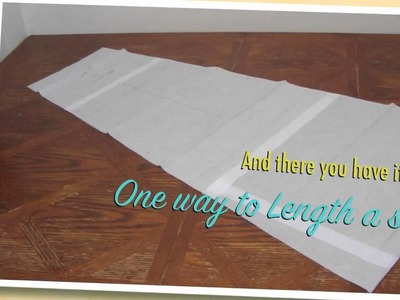 How to Lengthen and Aline Skirt (2 Methods)