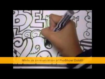 How to make a DOODLE ART