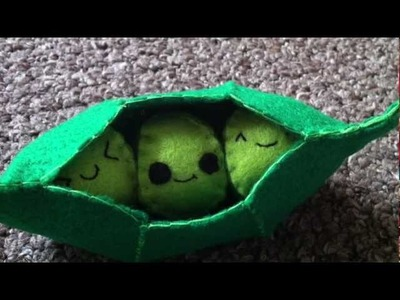 How to Make a Kawaii 'Peas in a Pod' Plush