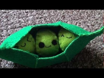 How to Make a Kawaii 'Peas in a Pod' Plush