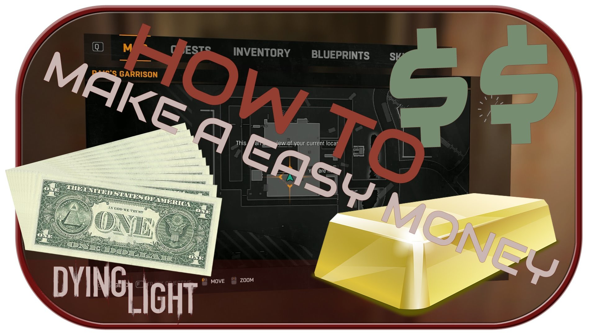 HOW TO MAKE AN EASY MONEY [EVEN MILLIONS] - Dying Light [PC.1080p]