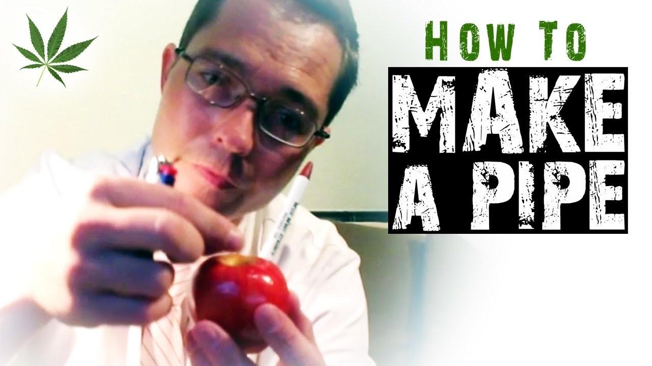 How to Make Homemade Improvised Pipes Marijuana Tricks & Tips w. Bogart #6